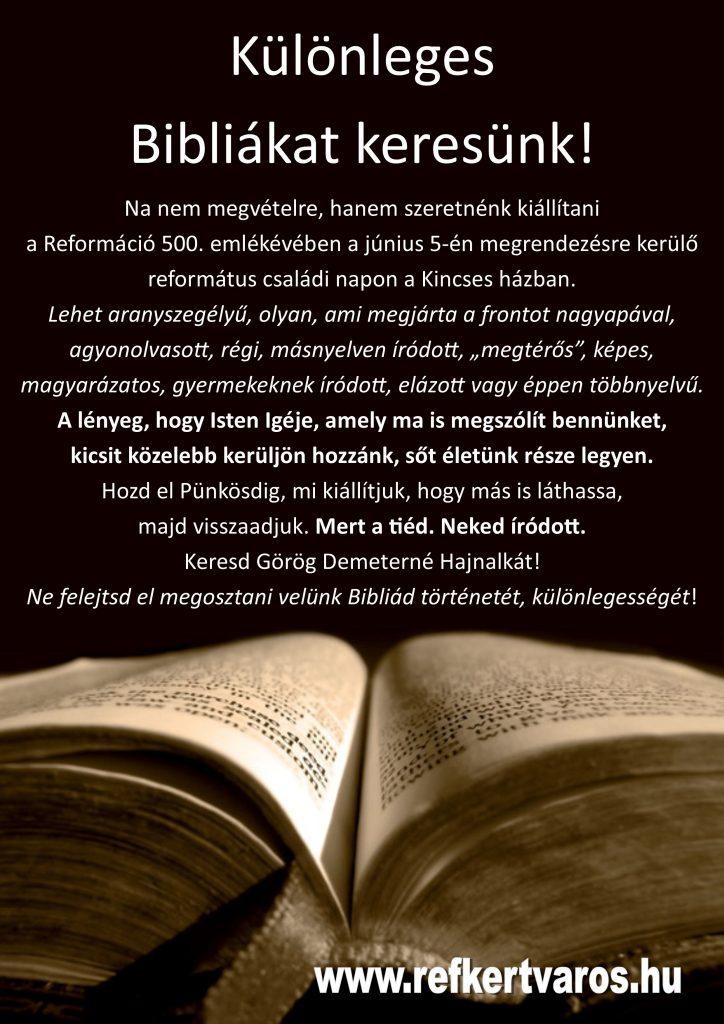 Különleges Biblia