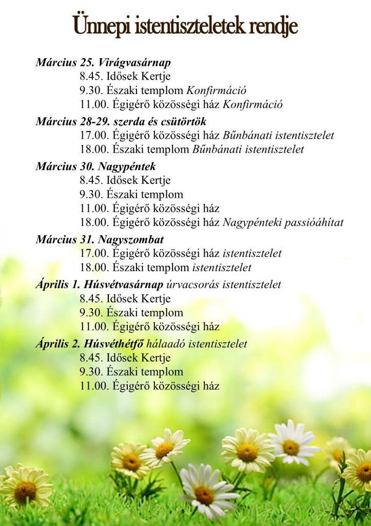 húsvéti ünnepi it